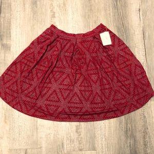 LuLaRoe vintage Elegant XL Madison skirt
